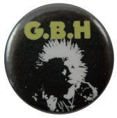 G.B.H. - 'Colin Abrahall' Button Badge